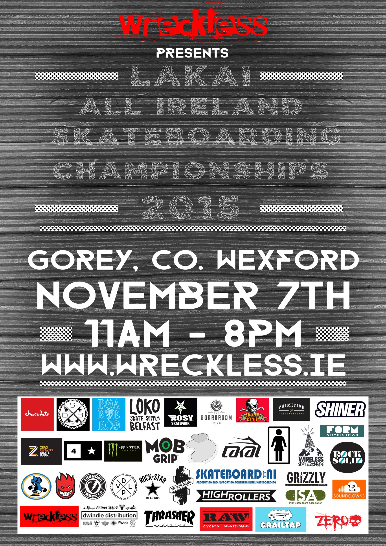 Lakai All Ireland Skateboarding Championships Final