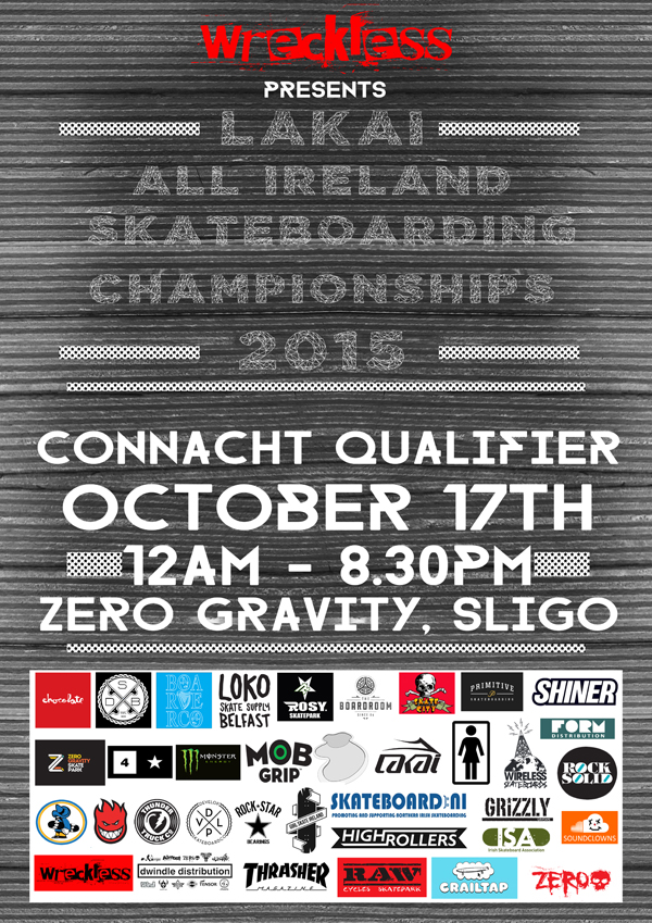 Lakai All Irelands Poster Connacht qualifier WEB