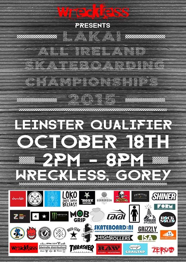 Lakai All Irelands Poster Leinster qualifier WEB