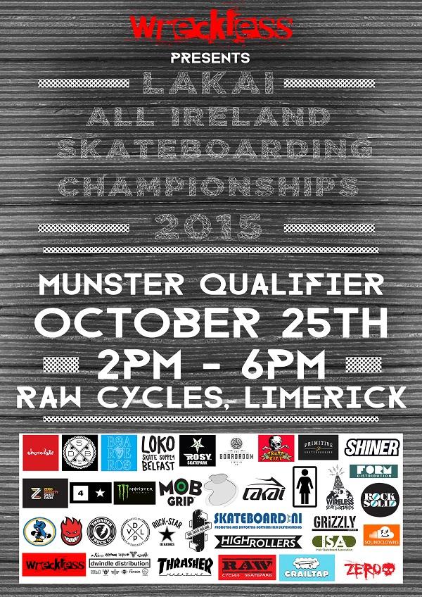 Lakai All Irelands Poster Munster qualifier WEB