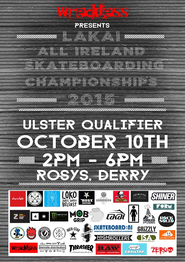 Lakai All Irelands Poster Ulster qualifier WEB